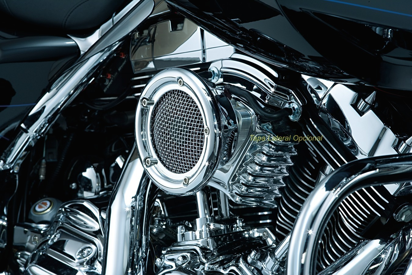 Filtro Aire Kuryakyn Evo Bt 93 99 Custom Center Harley