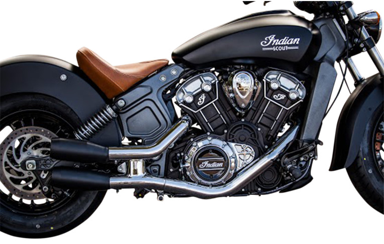 INDIAN SCOUT /& SCOUT 60 CUSTOM SLIP ON MUFFLERS