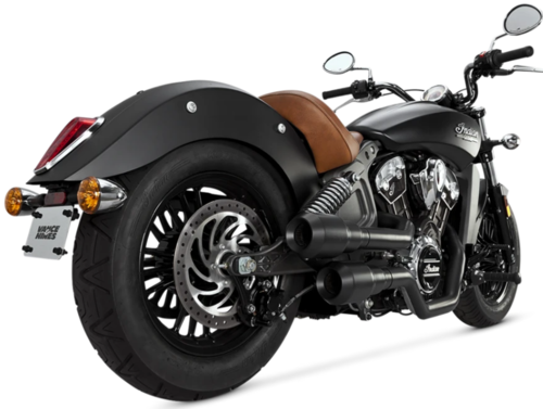 Sistema de Escape - Indian Scout '15-Post.- Vance & Hines