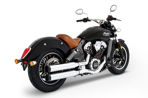 Colas de Escape Indian Scout/Sixty/Bobber '15-Post. - Rinehart