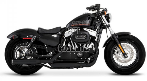 "Colas de Escape 3"" H-D XL '14-Post.- Rinehart"