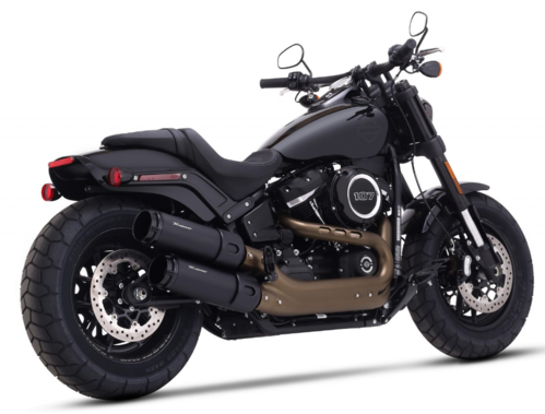 "Colas de Escape 4.5"" H-D Fat Bob '18-Post. - Rinehart"