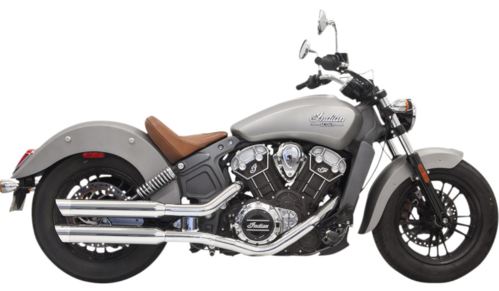 Colas de Escape - Indian Scout/ Sixty/ Bobber - Bassani