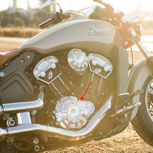Tapa Primaria - Indian Scout/Scout Sixty '15-Post. - Arlen Ness