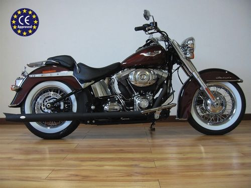 Escape Homologado c/Terminales a Elegir - H-D Softail hasta '17 - MCJ Exhausts