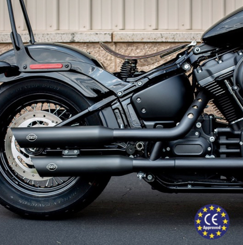 Colas de Escape - Homologacion Euro4 - H-D M8 Softail '18-Post. - S&S Cycles