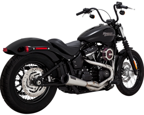 Sistema de Escape Upsweep 2-en-1 - H-D Softail '18-Post. - Vance & Hines