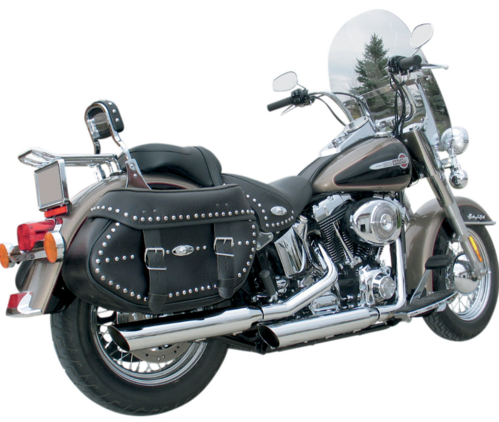 "Colas de Escape 3"" HP-Plus - H-D Softail '07-'17 - Khrome Werks"