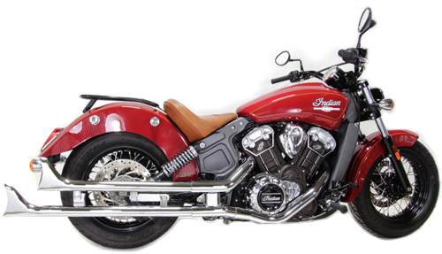 Colas de Escape - Indian Scout/Sixty/Bobber '15-Post.