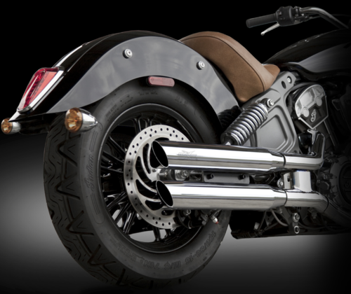 Colas de Escape - Indian Scout '15-Post. - RC Components
