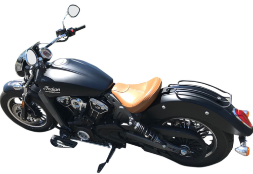Portaequipaje (negro mate) - Indian Scout/Scout Sixty '15-Post. - Motherwell