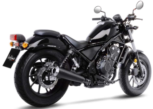 Cola de Escape - Honda Rebel CMX300 '17-Post. - LeoVince