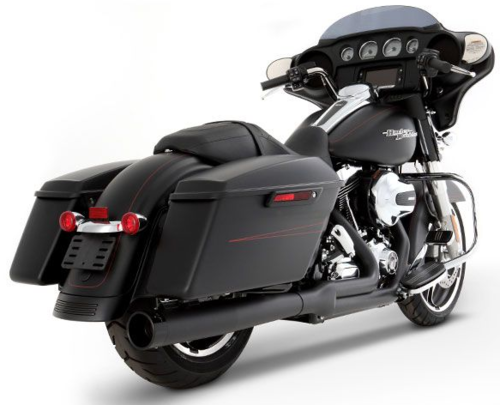 Sistema de Escape 2-en-1 - H-D Touring '09-'16 - Rinehart Racing