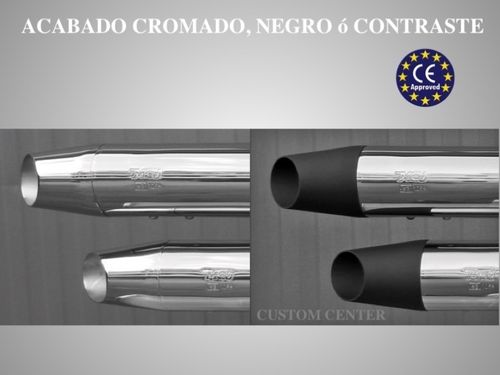 Colas de Escape (sonido variable) - Homologado - Kawasaki - MCJ Exhaust